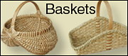 Victorian wicker baskets